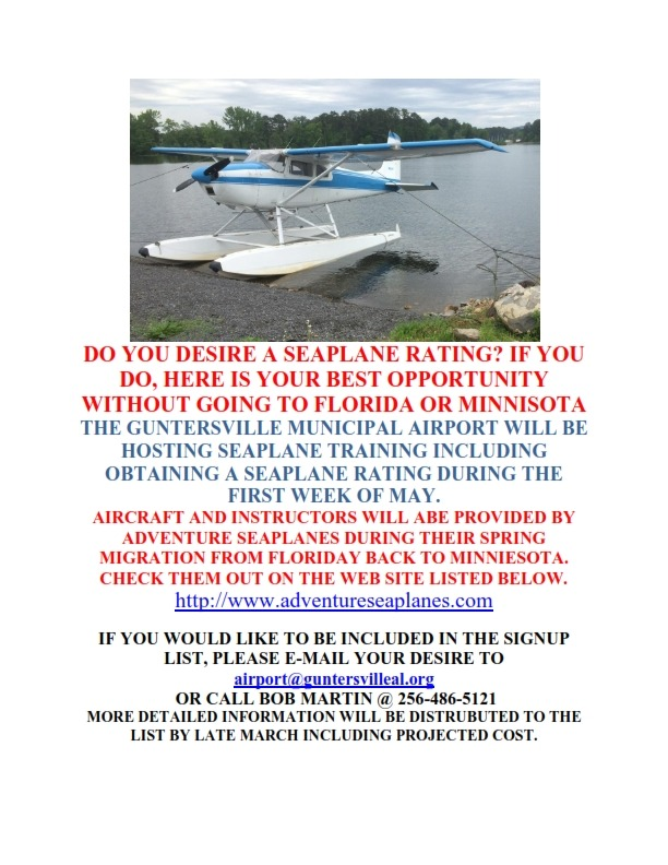 SEAPLANE TRAINING @ LAKE GUNTERSVILLE_001